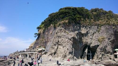 에노시마 바위동굴 image