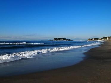 시치리가하마 해변 image