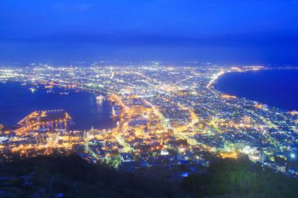 函館【夜のライトアップ】まで歩いてみよう!