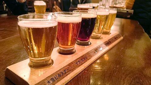 北海道の大地・旭川【グルメ】と【お酒】を堪能してみよう!