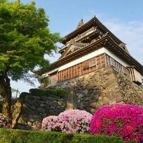 【坂井市】日本で最古の天守閣・丸岡城まで歩いてみよう!