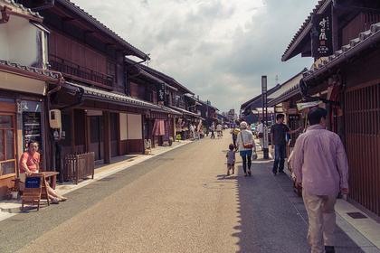 犬山の城下町で江戸時代の町人気分コース