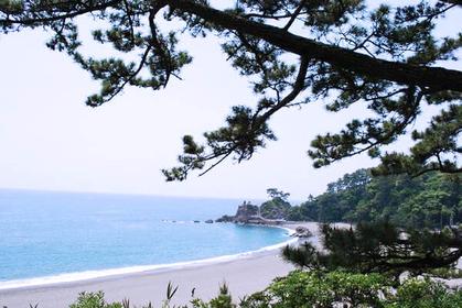 桂浜から坂本竜馬記念館へゆく