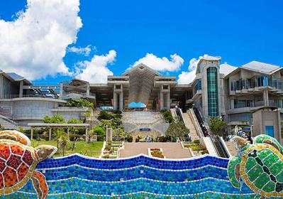 【日本一水槽容積の大きい水族館】 沖縄美ら海水族館を歩いてみよう!