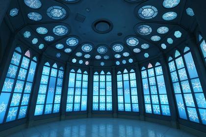 アナ雪の世界のような「雪の美術館」