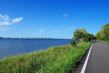 海の景色から湖の景色へ!
