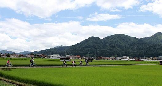 骑自行车发现日本新视野