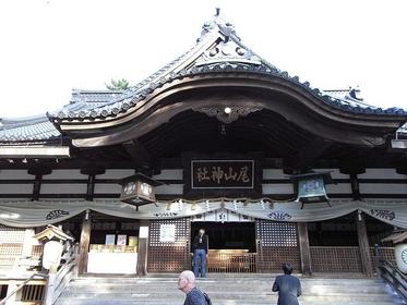 拝殿・尾山神社