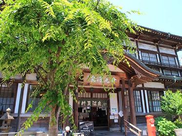 風格ある竹瓦温泉