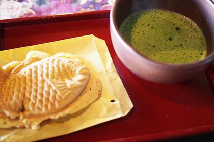 抹茶セット(540円・税込)