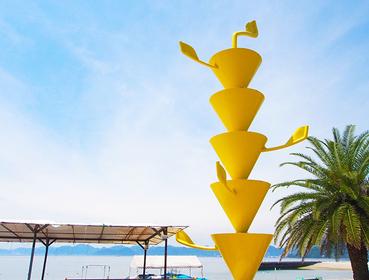 広島 しまなみ海道 島旅 瀬戸内 生口島 サイクリングコース フォトジェニックな観光スポット 美術館 レモンスイーツ