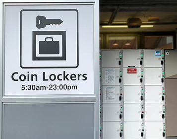Coin lockers & Luggage Storage facilities around Kyoto Station