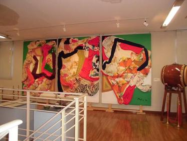 池田満寿夫記念館の展示
