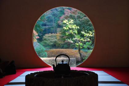 鎌倉寺カフェで抹茶体験