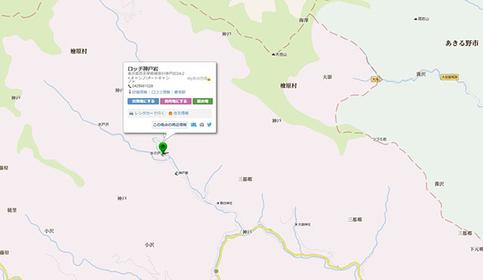 ロッヂ神戸岩 マップ