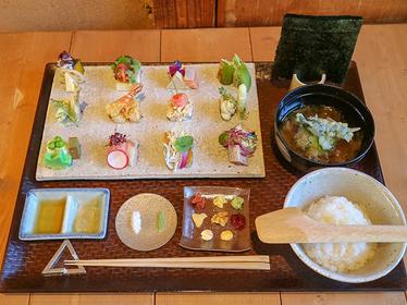 サクランボの天ぷらにクリームチーズ、変わり種の意外な組み合わせも合うんです。