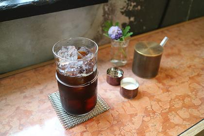 アイスコーヒー[水出し] 820円(税込)