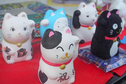 素焼き招き猫 1500円 ※小学生及びお着物着用の方は1200円