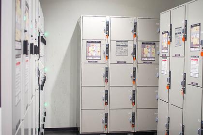 金沢駅構内のコインロッカー