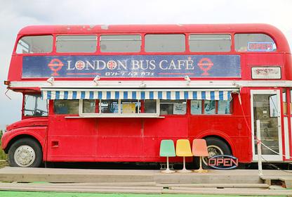 「倫敦巴士咖啡店」外觀