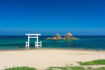 櫻井二見浦海岸 夫婦岩