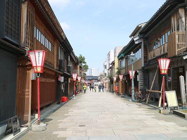 にし茶屋街の風景