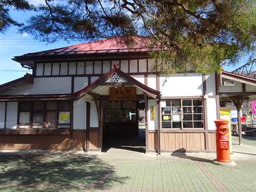 レトロな「長瀞駅」