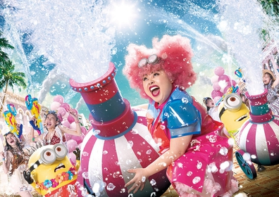 the summer event at Universal Studios Japan