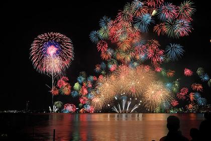 【滋賀】琵琶湖煙火大會