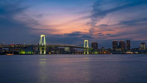 Night Views at Toyosu Gururi Park