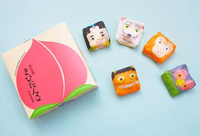 岡山のおみやげ かわいいおみやげ きびだんご 桃太郎 お菓子 岡山銘菓 スイーツ