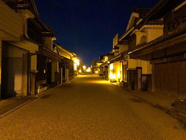 うだつが上がる町並み「美馬市」の脇町散策~昼夜編~