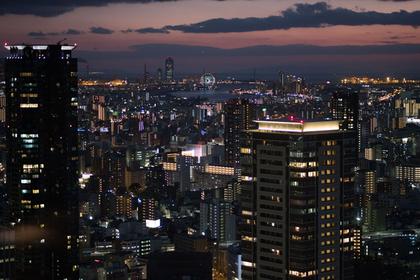 晚上在大阪