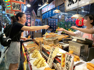 Nishiki Market : 10 of the Best Street Foods