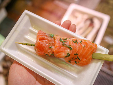 Carpaccio of Toro-salmon