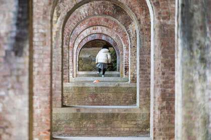 Take Instagrammable photos at the aqueduct of Nanzenji