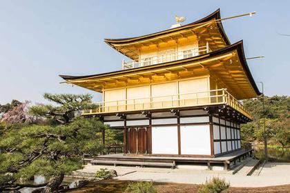 """参观从金阁寺开始的""""Kinukake之路""""的3处世界遗产"""