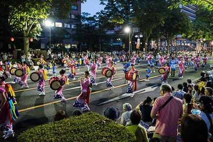 盛岡三颯舞祭