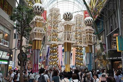 The Sendai Tanabata Festival