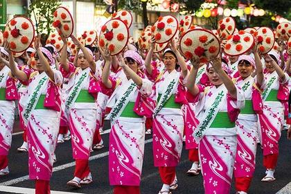 The Yamagata Hanagasa Festival