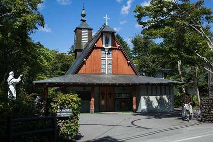 轻井泽的美丽教堂