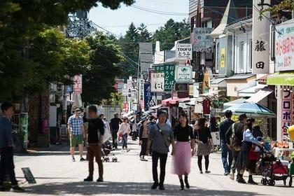 Stroll around Kyu-Karuizawa Ginza-dori