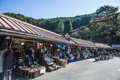 Gero Onsen Morning Market