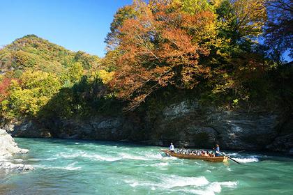 Nagatoro River rafting