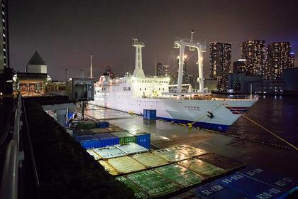 Izu Oshima Island Ferry ―Tokai Kisen
