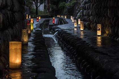 A festival of lights in Katsuyama: Akari Matsuri