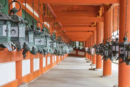 World Heritage locations in Nara