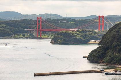 Take in the Modern Marvel that is the Hirado Bridge