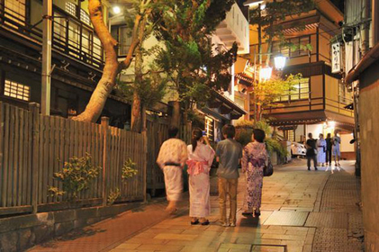 7位 渋温泉 (長野県)