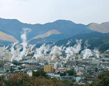 4위 벳푸 온천 (오이타현)